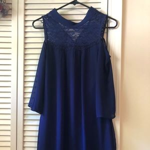 Cute flowy off shoulder BCX mid dress from Macy's